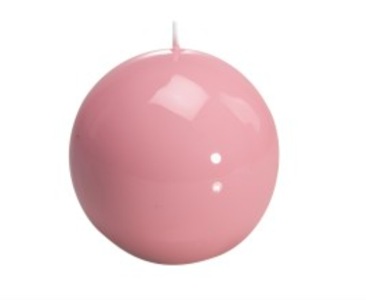 medium ball candle