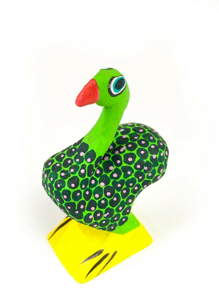 MINI BIRD Oaxacan Alebrije Wood Carving Mexican Folk Art Sculpture - VivaMexico.com