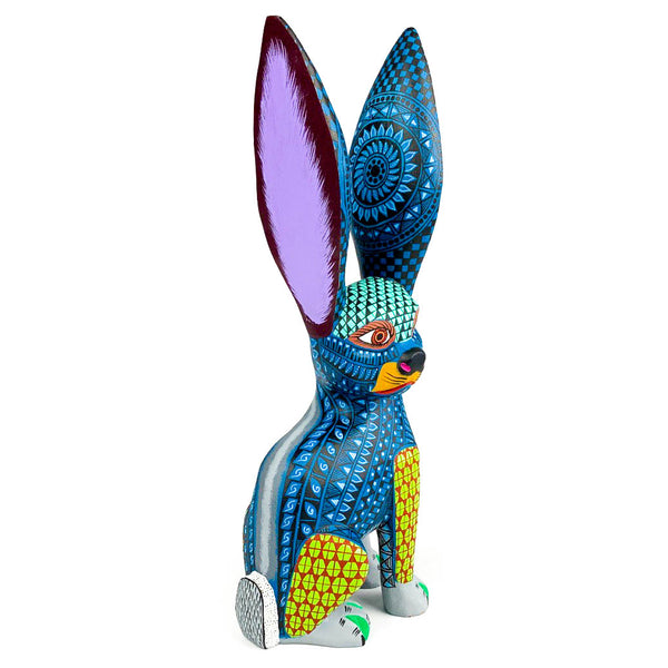 Tall Rabbit - Oaxacan Alebrije Wood Carving