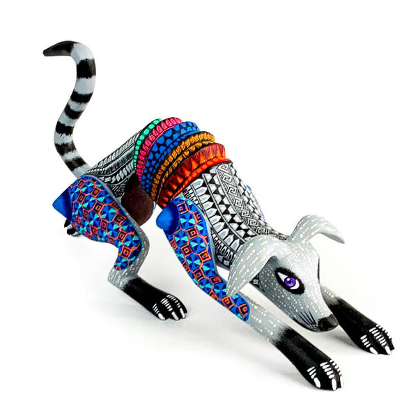 Thin Dog - Oaxacan Alebrije Wood Carving