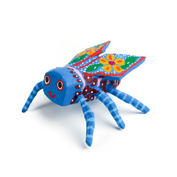 Mini Fly Oaxacan Alebrije Wood Carving Mexican Folk Art Sculpture - VivaMexico.com