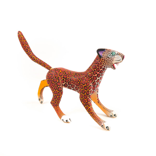 Jaguar - Oaxacan Alebrije Wood Carving