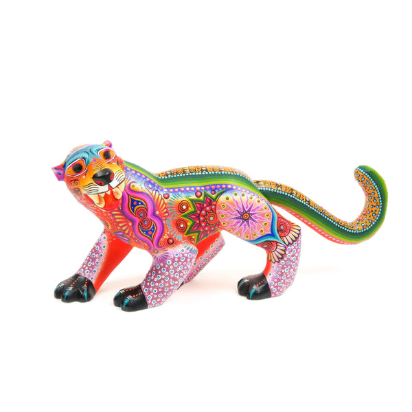 Jaguar - Oaxacan Alebrije Wood Carving Sculpture - VivaMexico.com