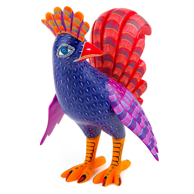 Chicken - Oaxacan Alebrije Wood Carving - VivaMexico.com
