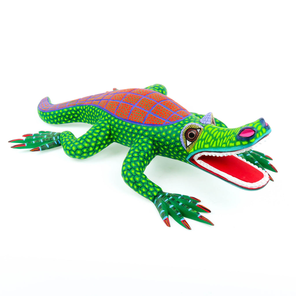 Alligator - Oaxacan Alebrije Wood Carving
