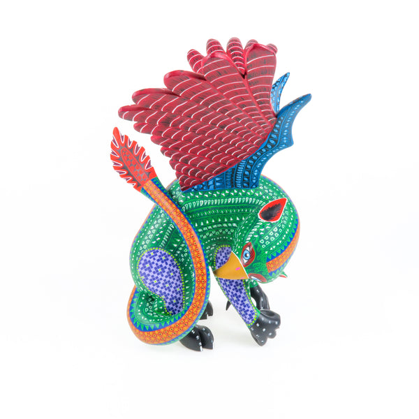 Magnificent Griffin - Oaxacan Alebrije Wood Carving