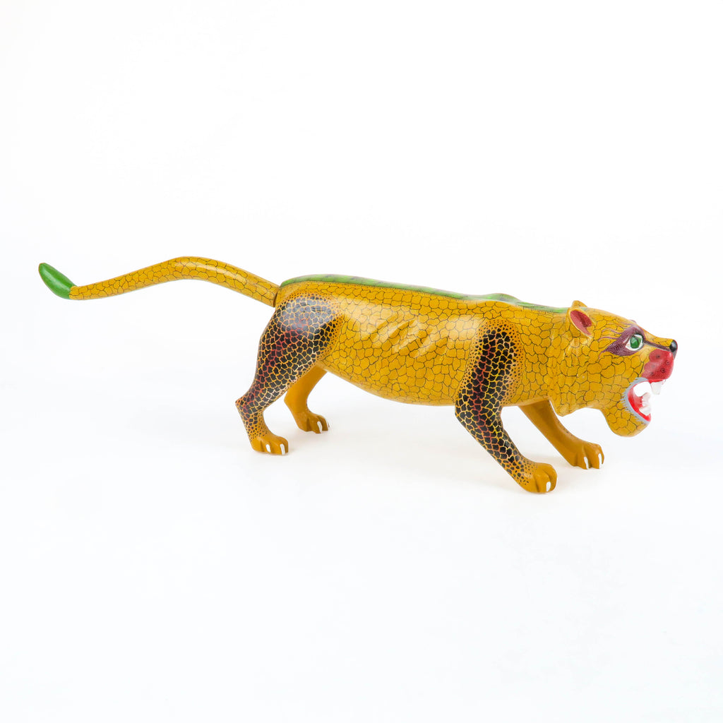 Fabulous Jaguar - Oaxacan Alebrije Wood Carving