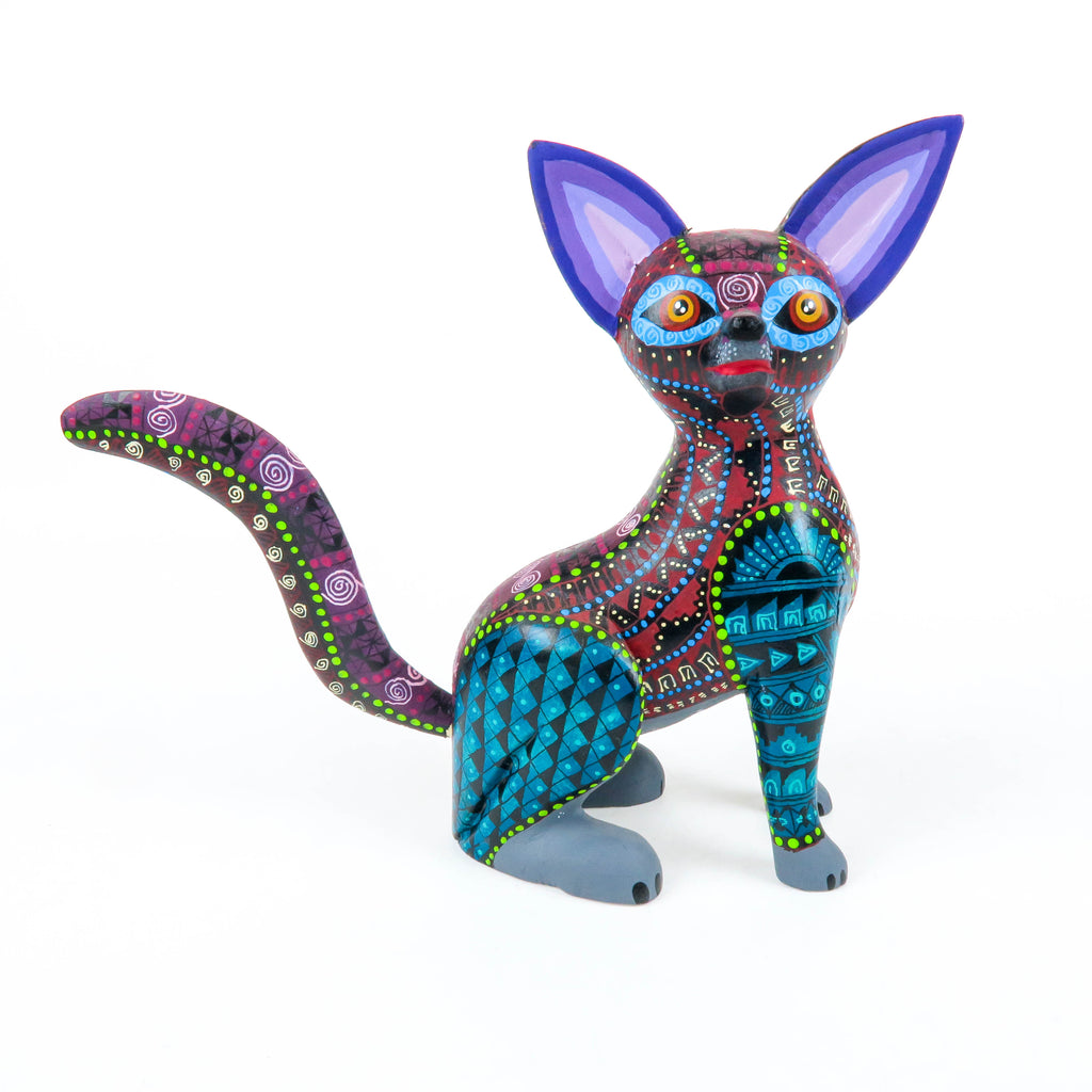 Zapotec Fox - Oaxacan Alebrije Wood Carving