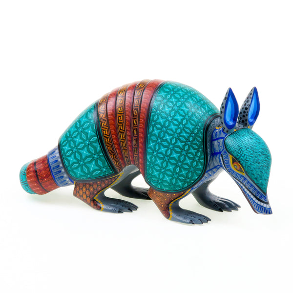 Masterpiece Armadillo - Oaxacan Alebrije Wood Carving