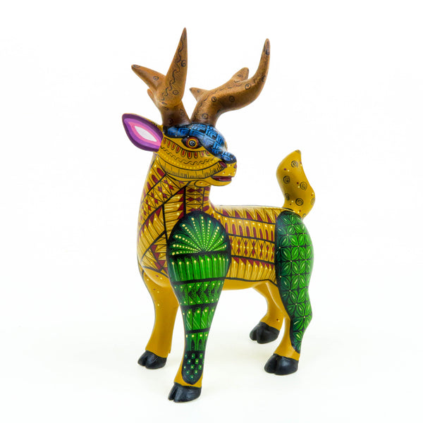 Deer - Oaxacan Alebrije Wood Carving