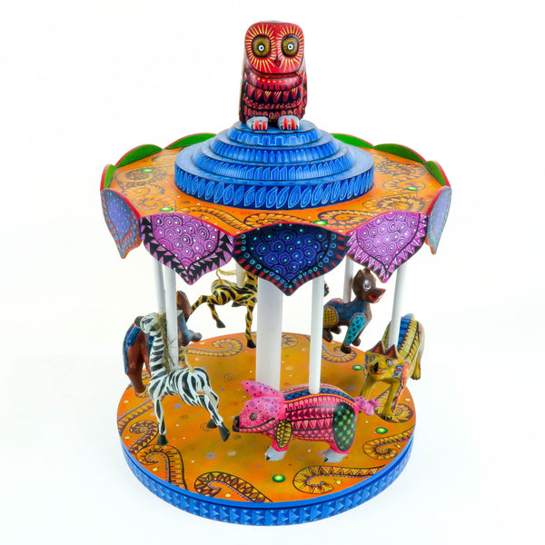 Masterpiece Animal Carousel - Oaxacan Alebrije Wood Carving
