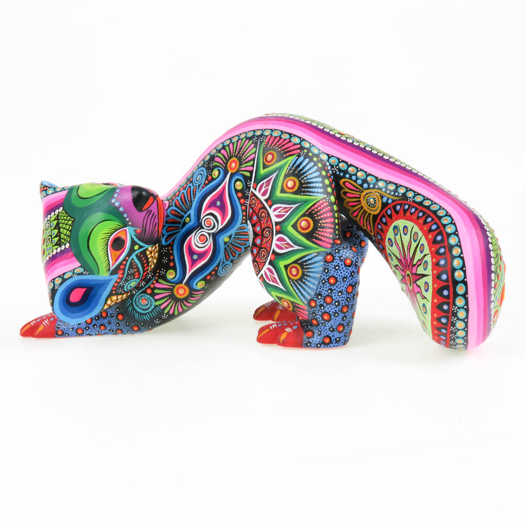 Playful Otter - Oaxacan Alebrije Wood Carving