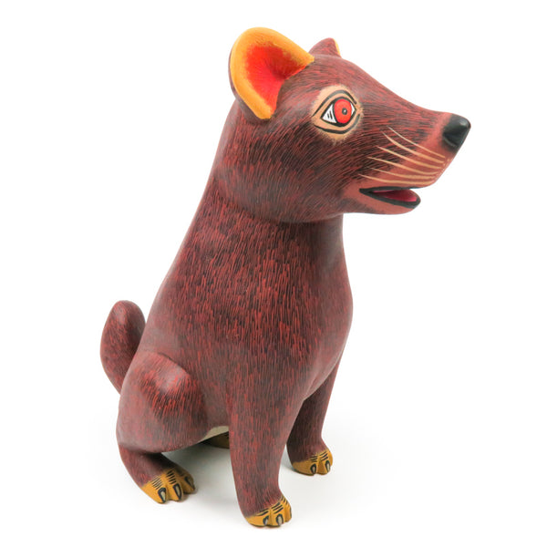 Grizzly Bear - Oaxacan Alebrije Wood Carving - Eleazar Morales