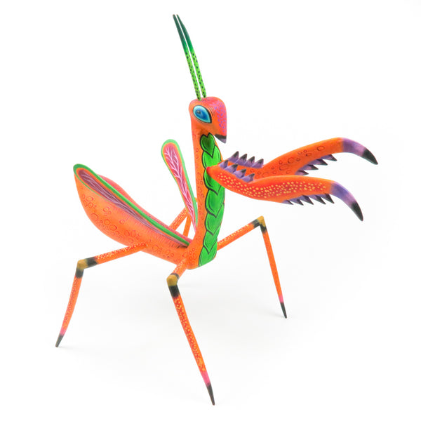 Praying Mantis - Oaxacan Alebrije Wood Carving