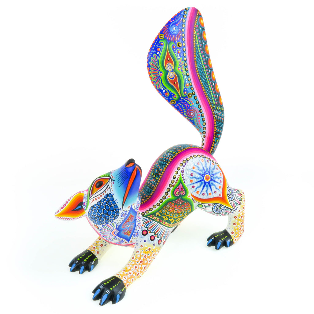 Fennec Fox - Oaxacan Alebrije Wood Carving