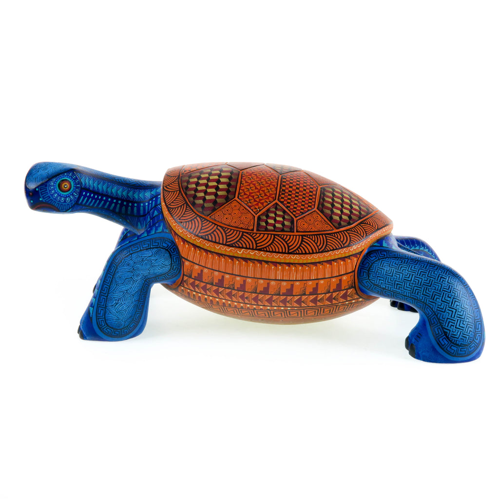 Fantastic Turtle - Oaxacan Alebrije Wood Carving