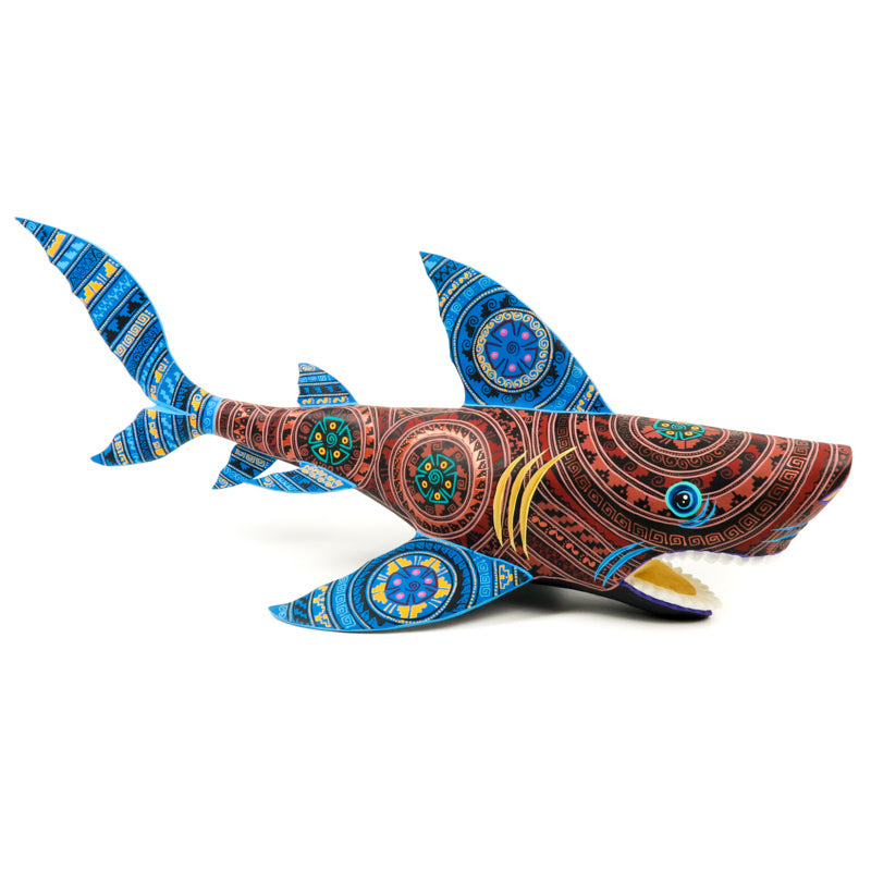 Shark - Oaxacan Alebrije Wood Carving