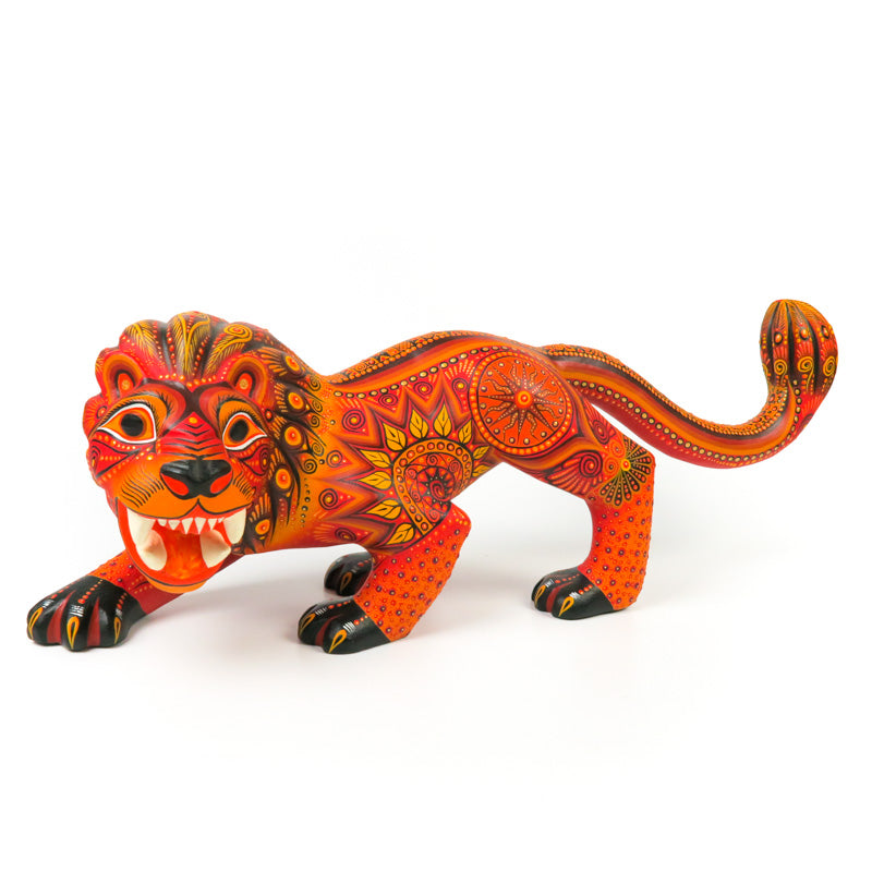 Lion - Oaxacan Alebrije Wood Carving