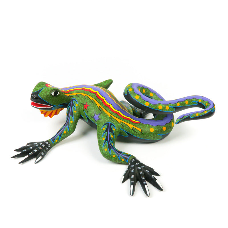 Large Iguana - Oaxacan Alebrije Wood Carving