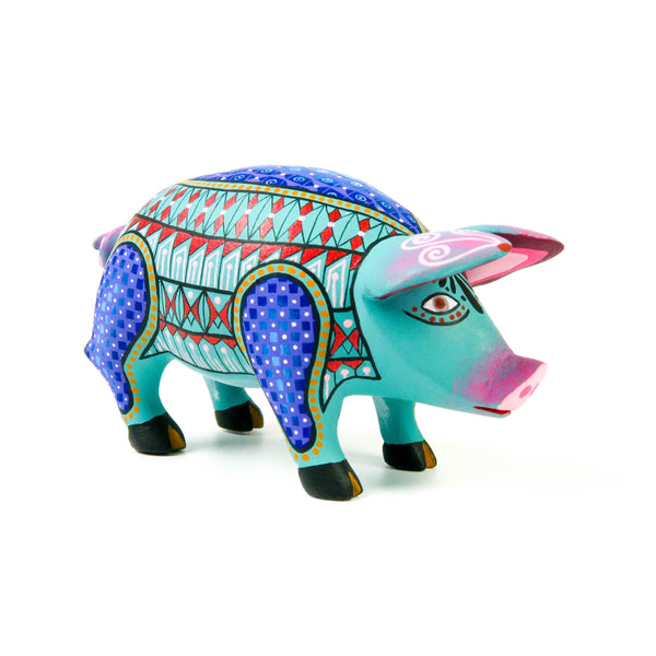 Fantastic Pig - Oaxacan Alebrije Wood Carving