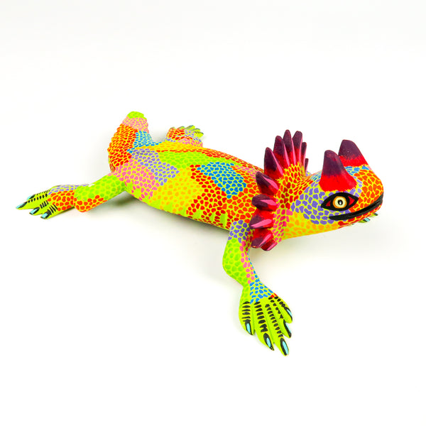 Horned Lizard - Oaxacan Alebrije Wood Carving