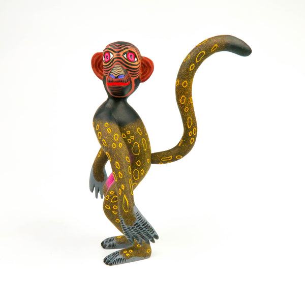 Monkey - Oaxacan Alebrije Wood Carving