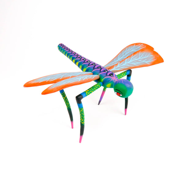 Dragon Fly - Oaxacan Alebrije Wood Carving Sculpture