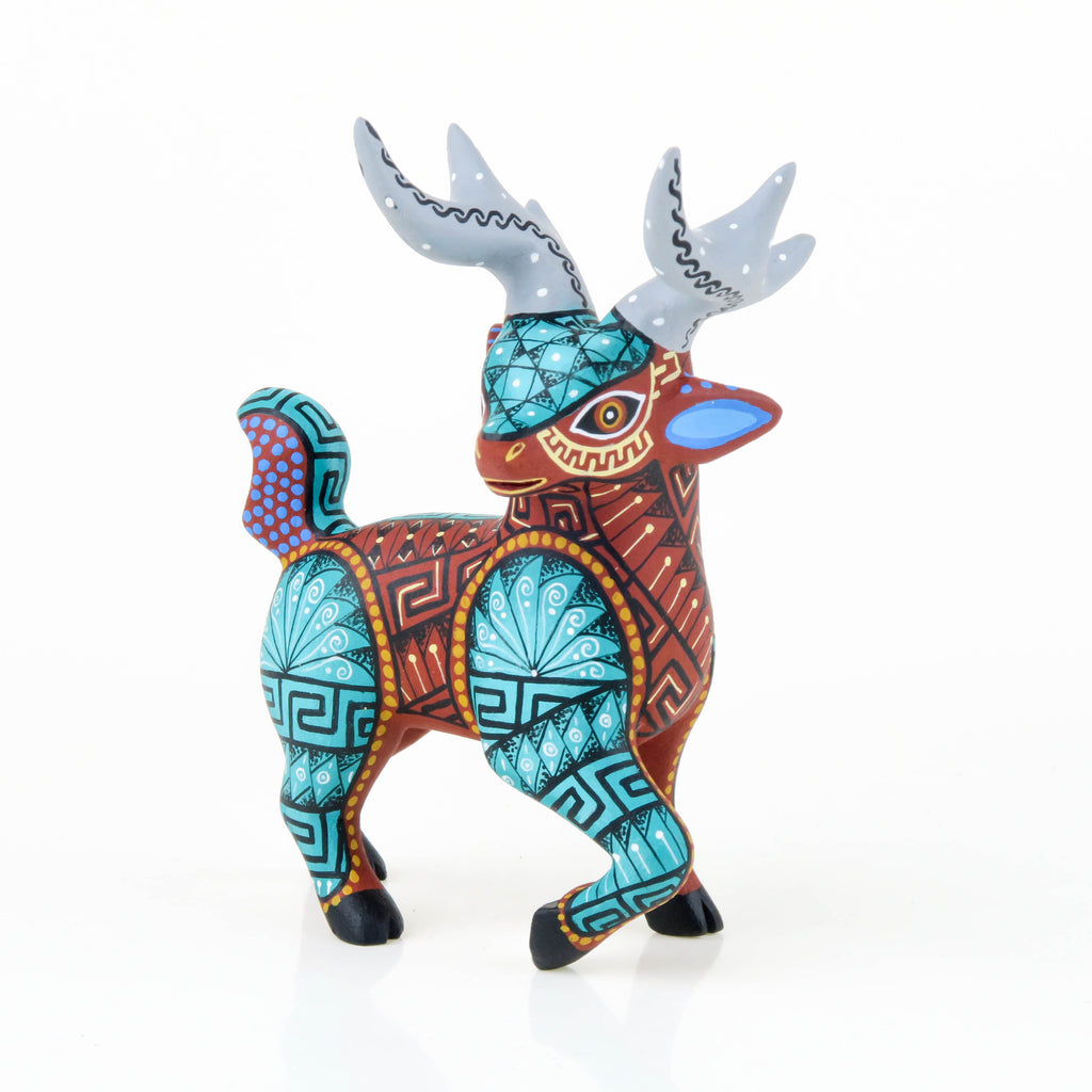 Fabulous Deer - Oaxacan Alebrije Wood Carving