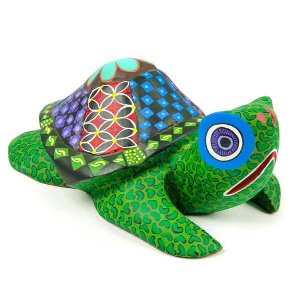 Turtle - Oaxacan Alebrije Wood Carving