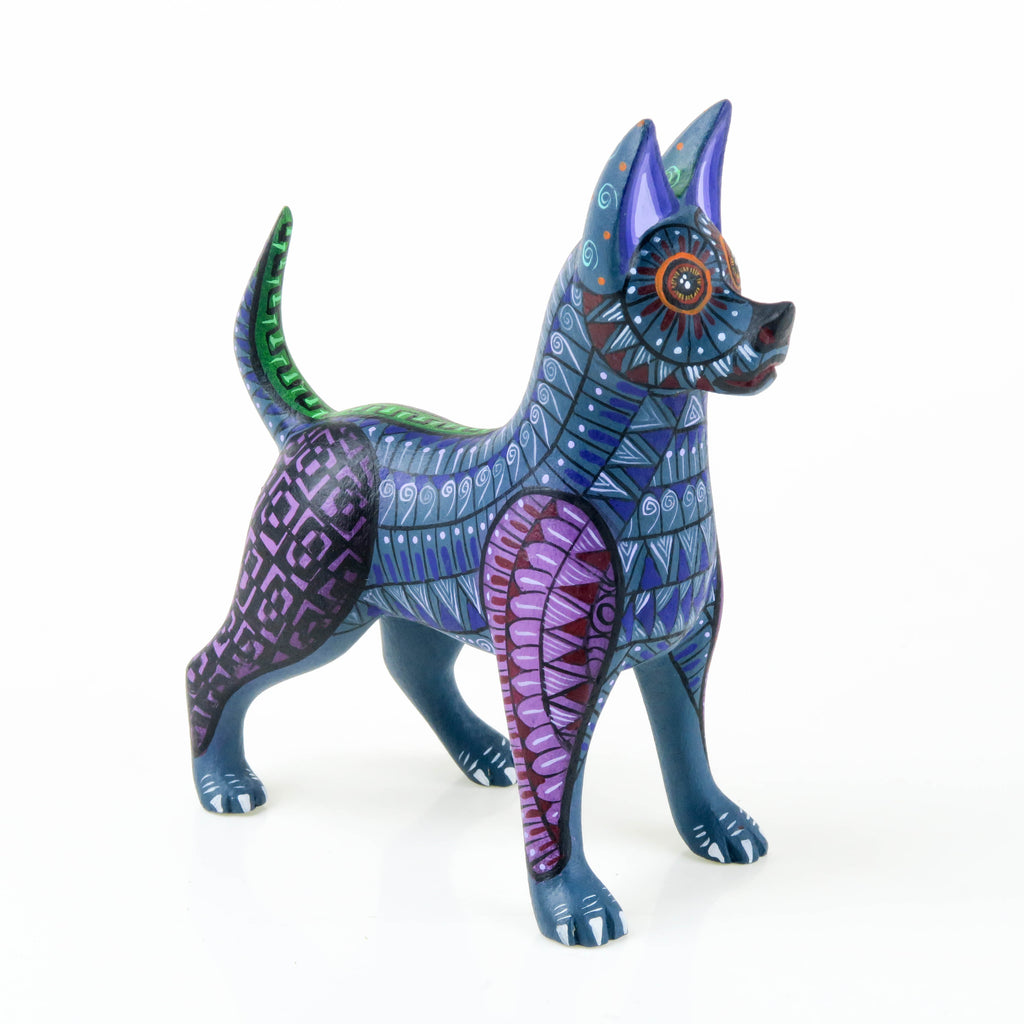 Zapotec Dog - Oaxacan Alebrije Wood Carving