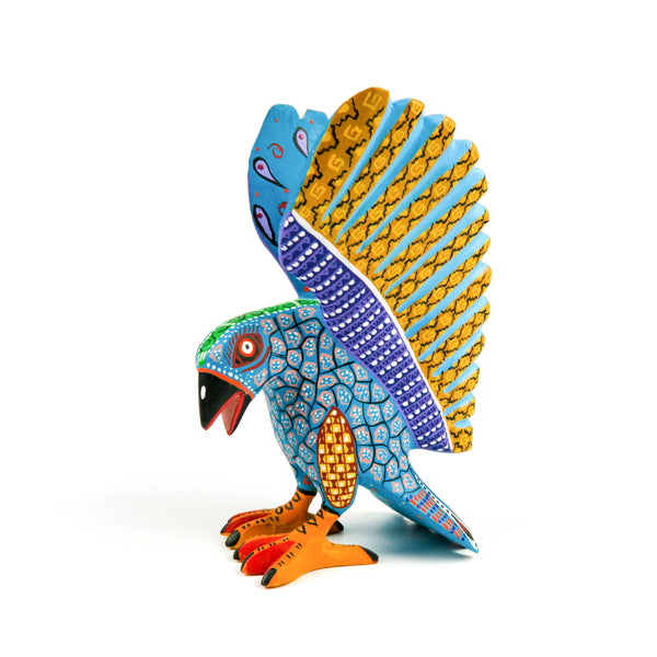 Hawk - Oaxacan Alebrije Wood Carving
