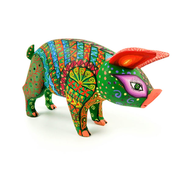 Pig - Oaxacan Alebrije Wood Carving