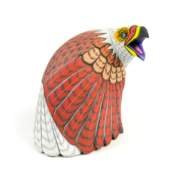 Bald Eagle - Oaxacan Alebrije Wood Carving - VivaMexico.com