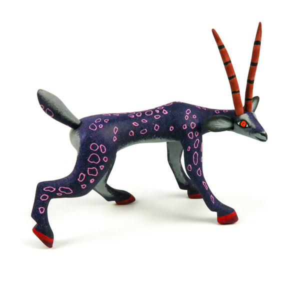 Gazelle - Oaxacan Alebrije Wood Carving