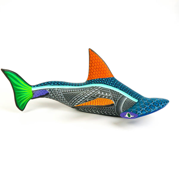 Hammerhead Shark - Oaxacan Alebrije Wood Carving