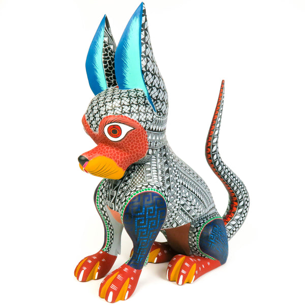 Large Zapotec Dog - Oaxacan Alebrije Wood Carving
