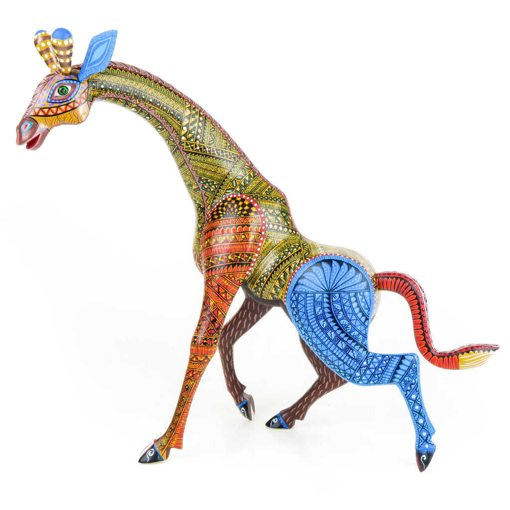 Masterpiece Giraffe - Oaxacan Alebrije Wood Carving