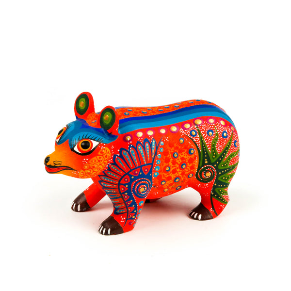 Bear - Oaxacan Alebrije Wood Carving