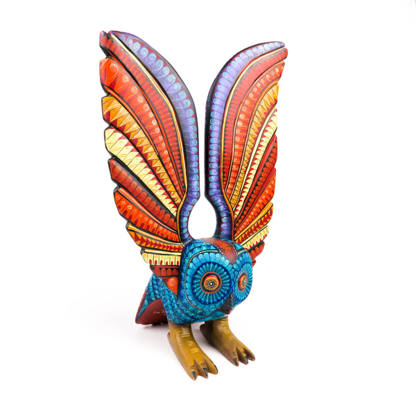 Zapotec Owl - Oaxacan Alebrije Wood Carving
