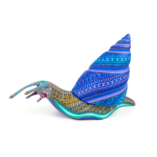 Masterpiece Snail - Oaxacan Alebrije Wood Carving