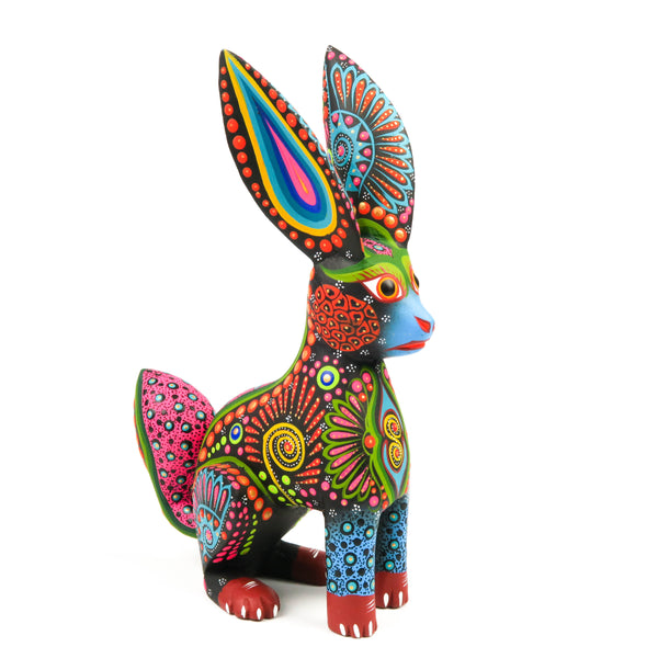 Rabbit - Oaxacan Alebrije Wood Carving Mexican Folk Art Sculpture