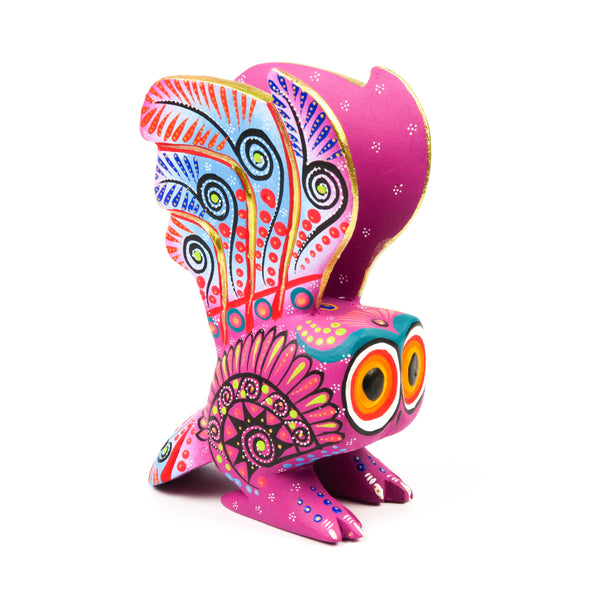 Owl - Oaxacan Alebrije Wood Carving Mexican Folk Art Sculpture