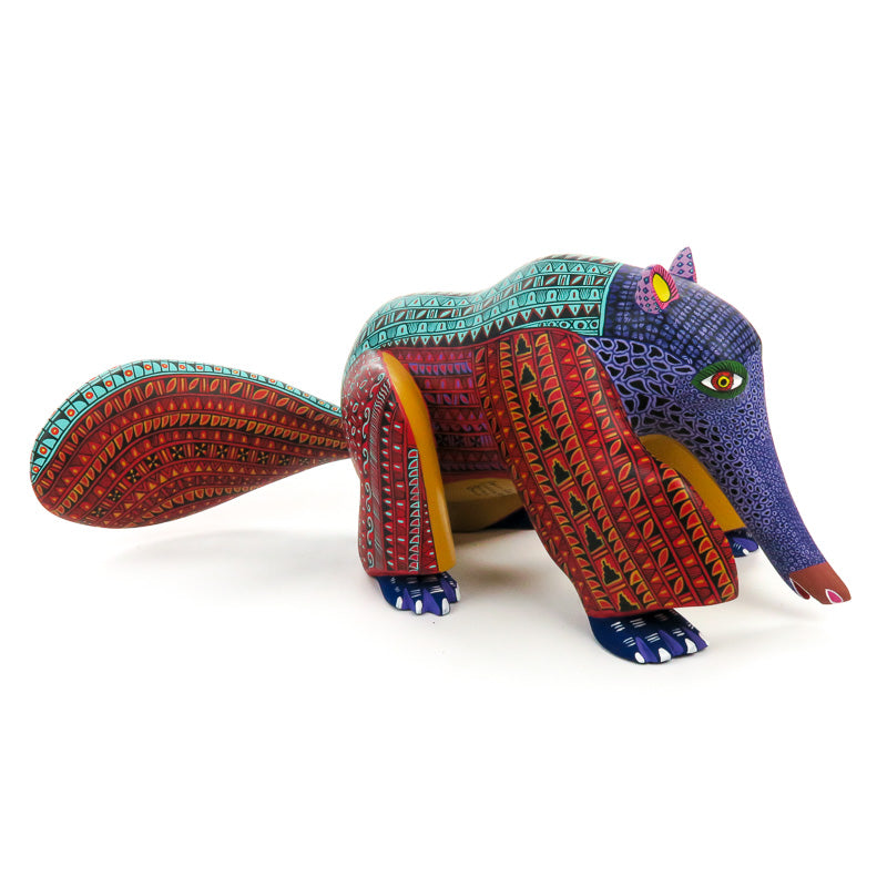 Anteater - Oaxacan Alebrije Wood Carving - VivaMexico.com