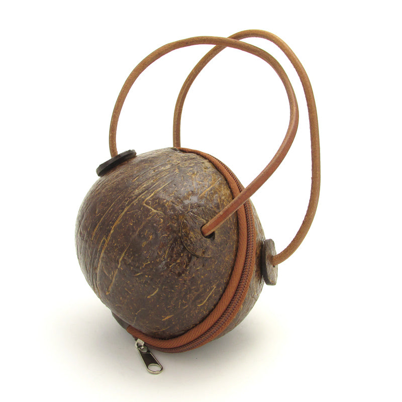 Genuine Coconut Shell Purse - VivaMexico.com