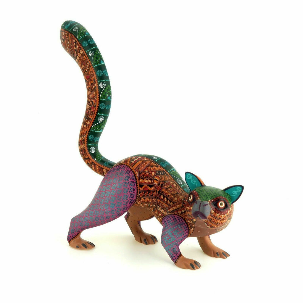 Zapotec Ferret - Oaxacan Alebrije Wood Carving