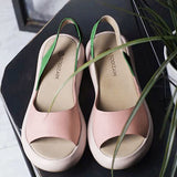 Women's New Style Footbed Peep Toe Sandals