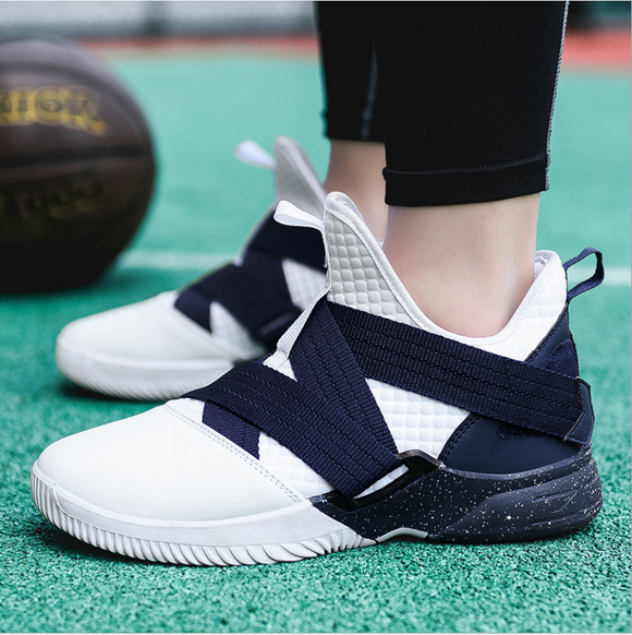 Men Basketball Shoes Sneakers Sporty Running Walking Shoes Athletic Boots Casual Shoes