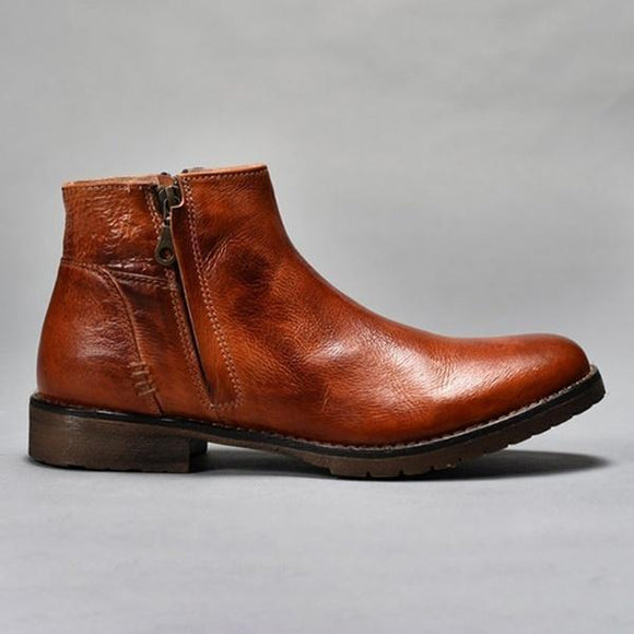 2019 New Arrivals Brown Men's Ankle Boots
