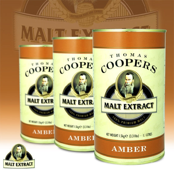 Coopers Extract Amber Malt