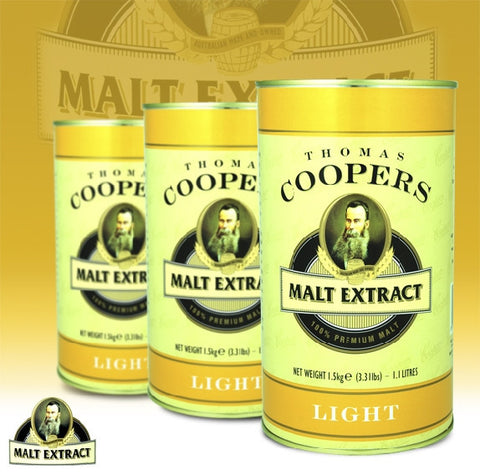 Coopers Extract Light Malt